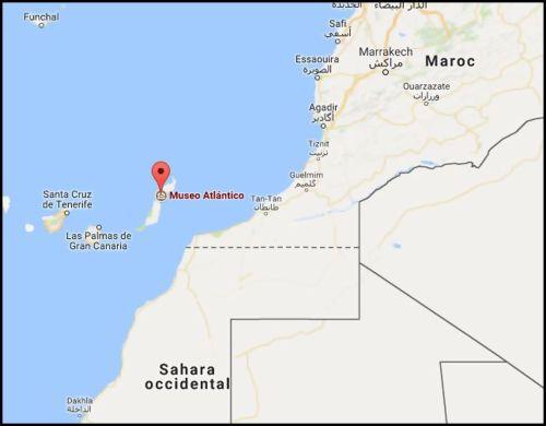 Museo Atlantico - Map
