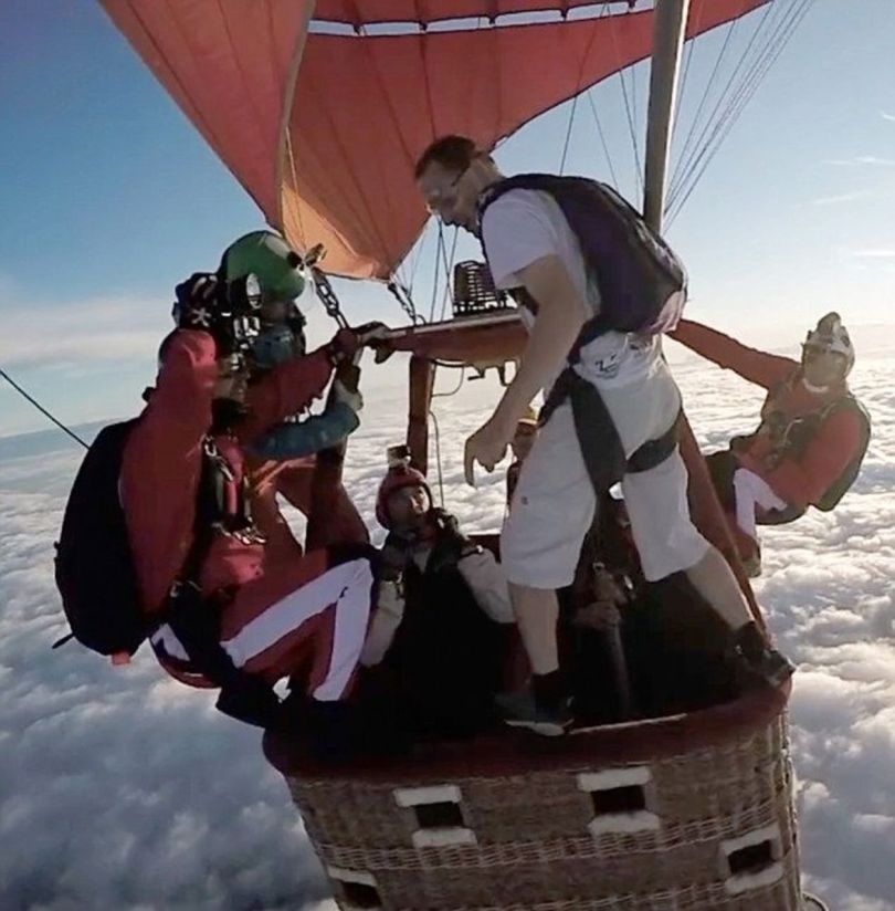 Skydiving Without Parachute - 1