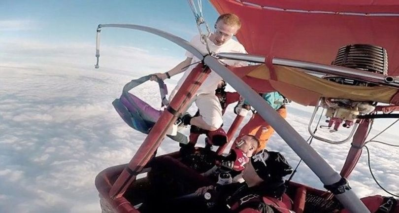 Skydiving Without Parachute - 2