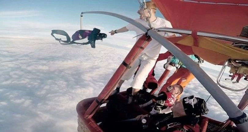 Skydiving Without Parachute - 3