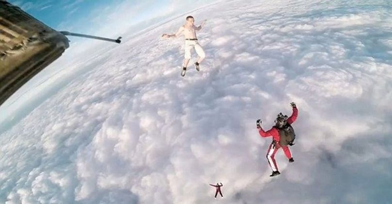 Skydiving Without Parachute - 5