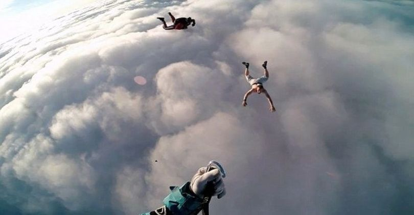 Skydiving Without Parachute - 6