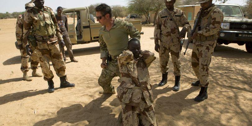 Soldats américains - Niger - 1