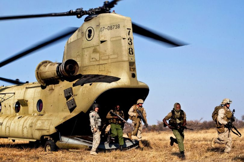 Soldats américains - Niger - 3