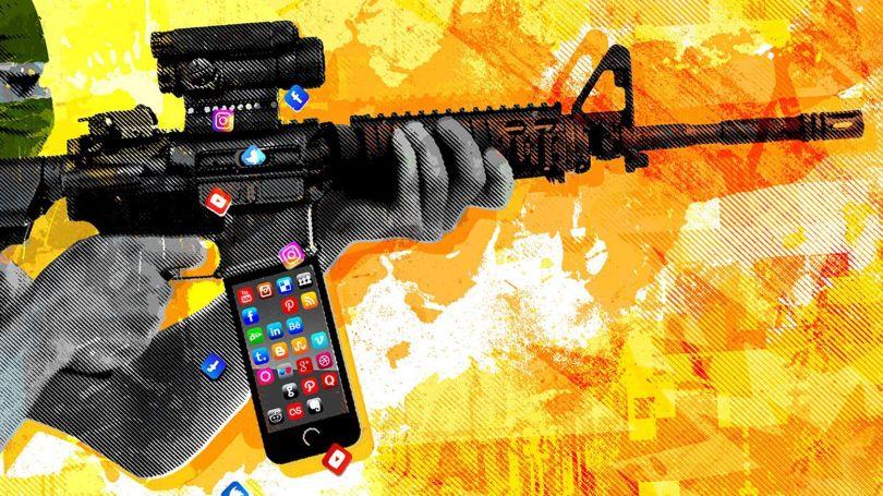 Terroriste - Réseaux sociaux