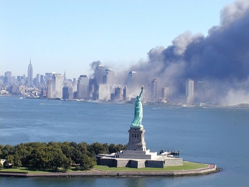 WTC - Statue de le Liberté