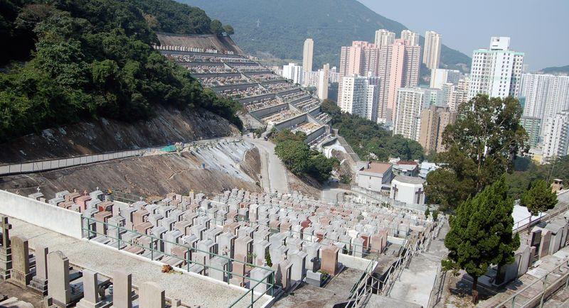 Cemetery - Cimetière - Hong Kong