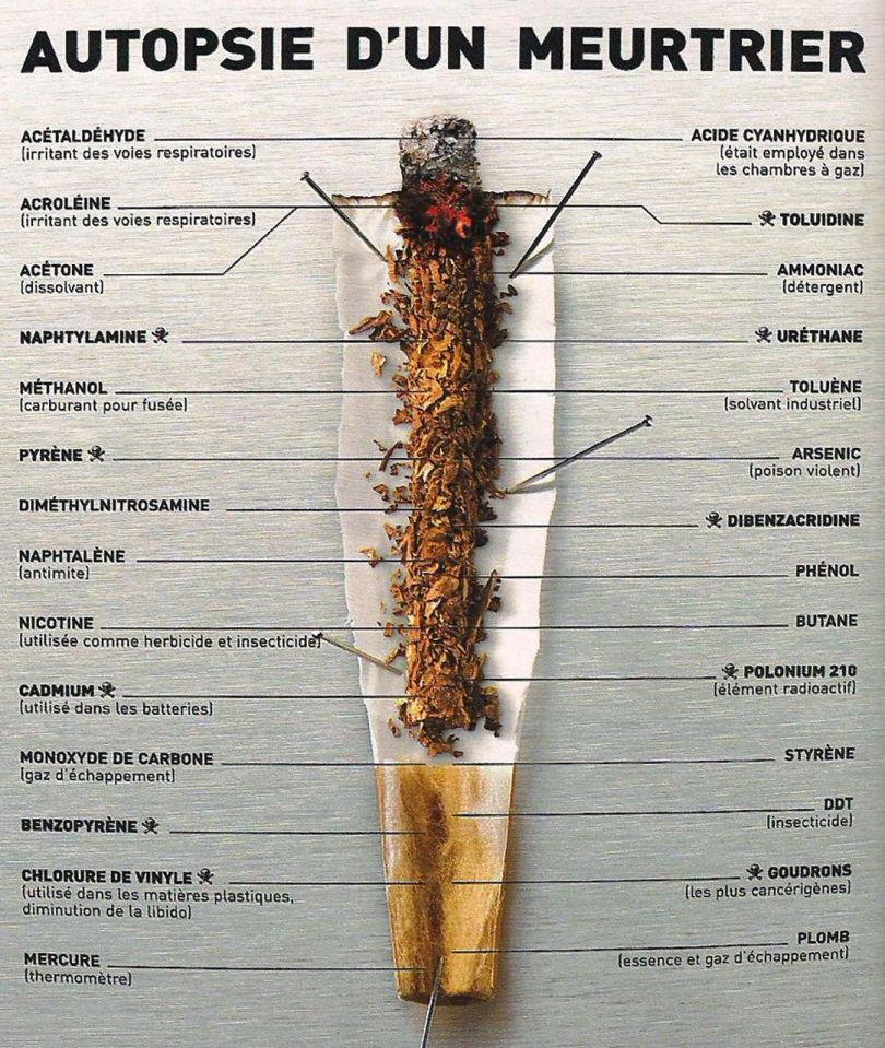 Cigarette - Composition