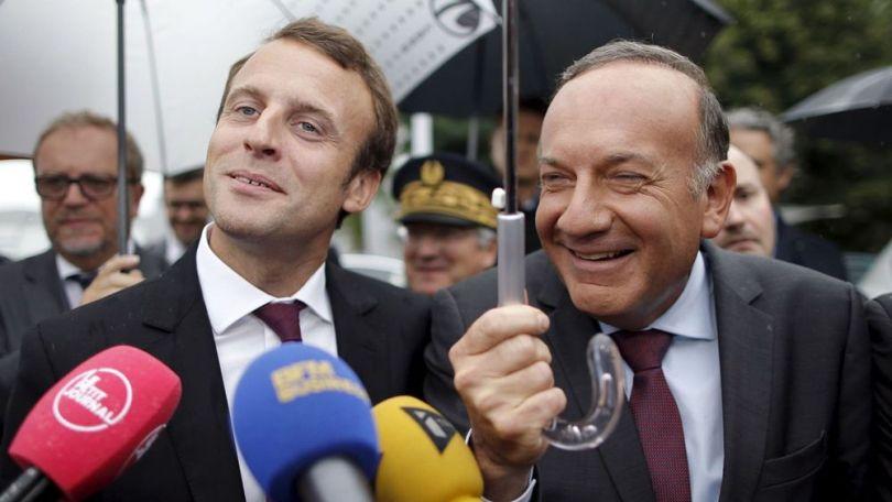 Emmanuel Macron - Président du Medef, Pierre Gattaz - 2
