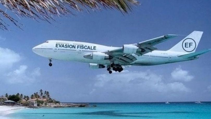 Evasion fiscale - Avion