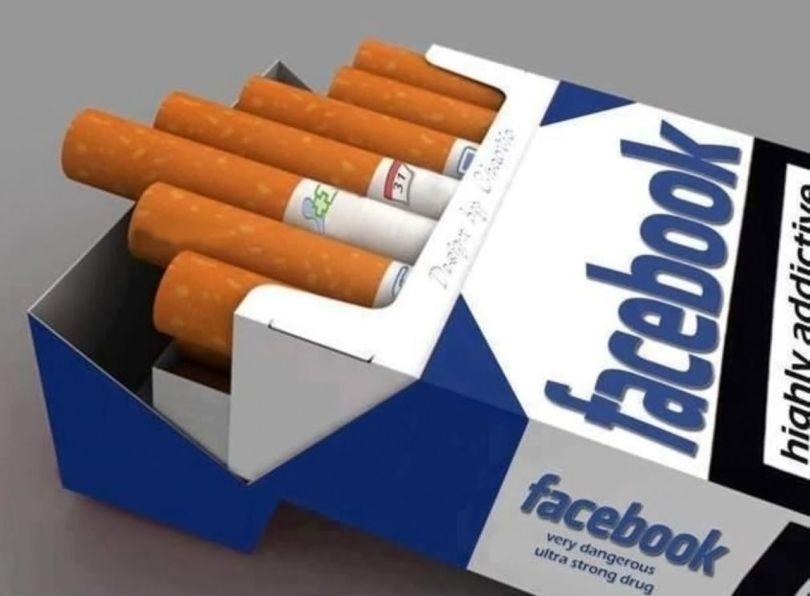Facebook - Cigarette