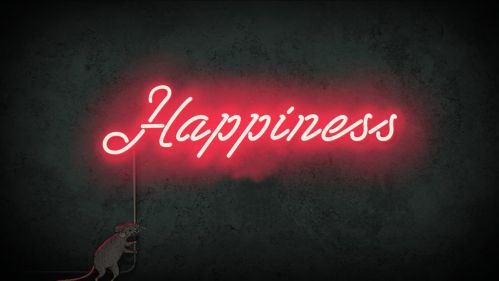 Happiness - Steve Cutts - 2