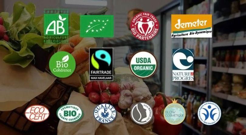 Logos label Bio