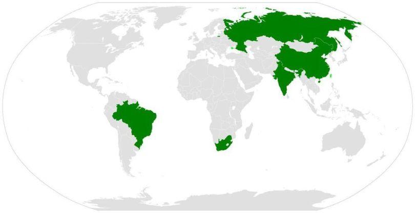 Pays du BRICS