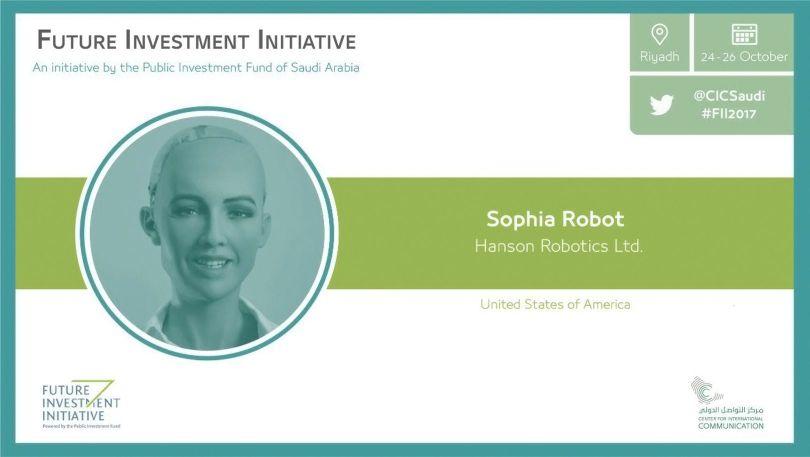 Sophia - Robot - 1
