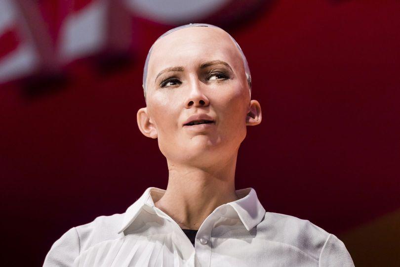Sophia - Robot - 2