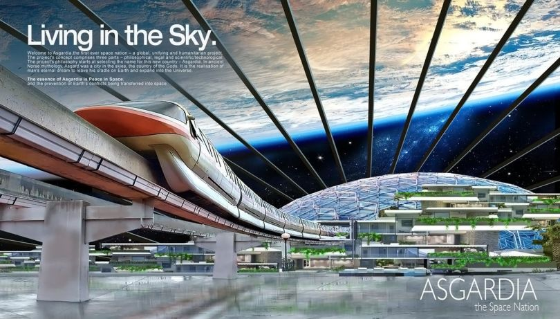 Space Kingdom of Asgardia - 4