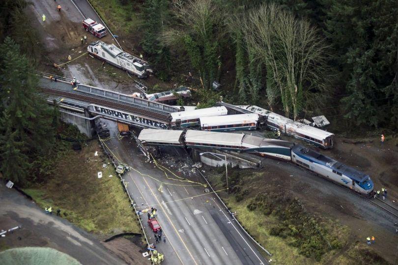 Accident ferroviaire - Etats-Unis - 1
