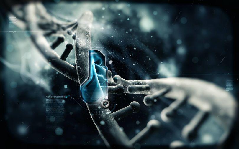 ADN - DNA - Wallpaper