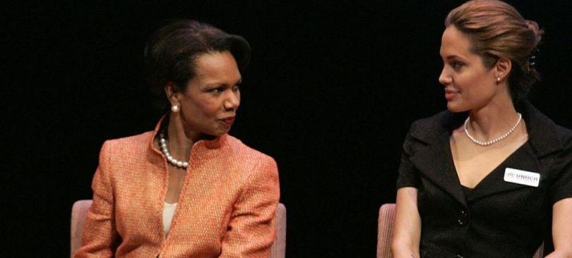 Angelina Jolie & Condoleezza Rice - UNHCR (15.06.2005)
