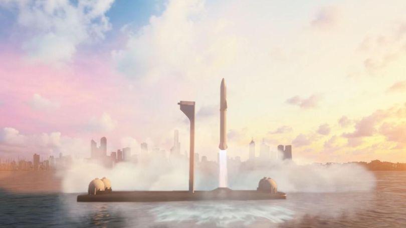 Big Falcon Rocket - Spacex