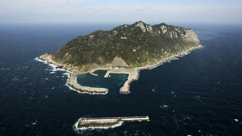 Île japonaise d'Okinoshima