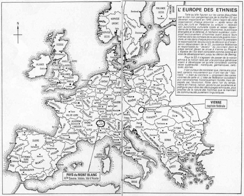 Carte - Europe des ethnies