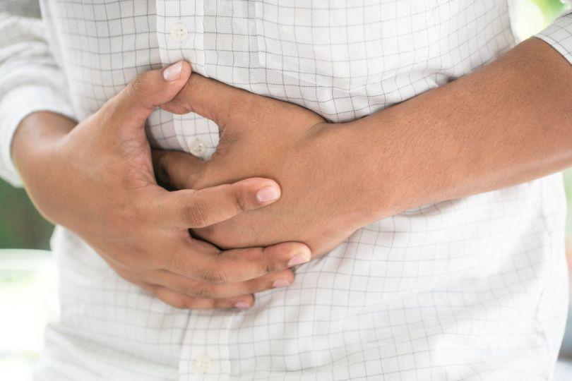 Douleur - Homme - Mains - Colopathie fonctionnelle