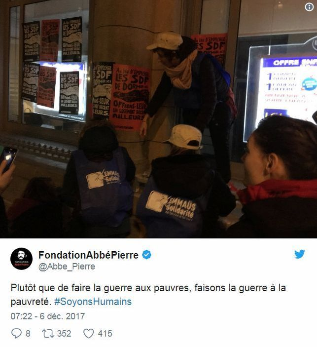 Fondation Abbé Pierre - Twitte