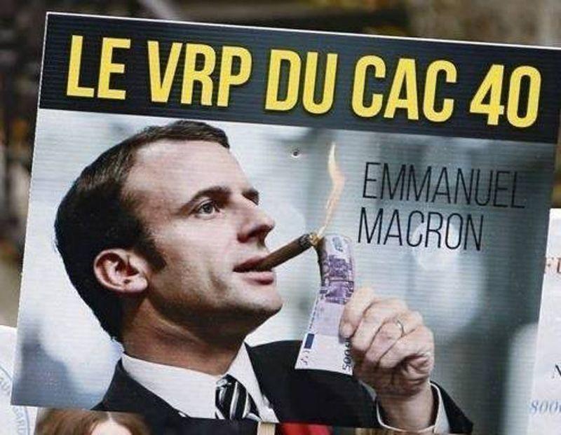 Comment l'employé Macron, au service des riches… nous entube : ISF, Flate Taxe, APL…