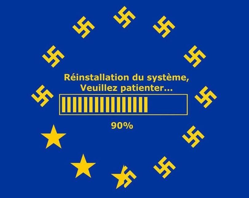 Nazisme - Drapeau européen - Donwload