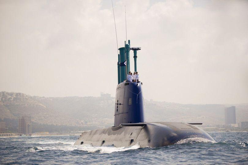 Sous-marin - Classe Dolphin - Israël