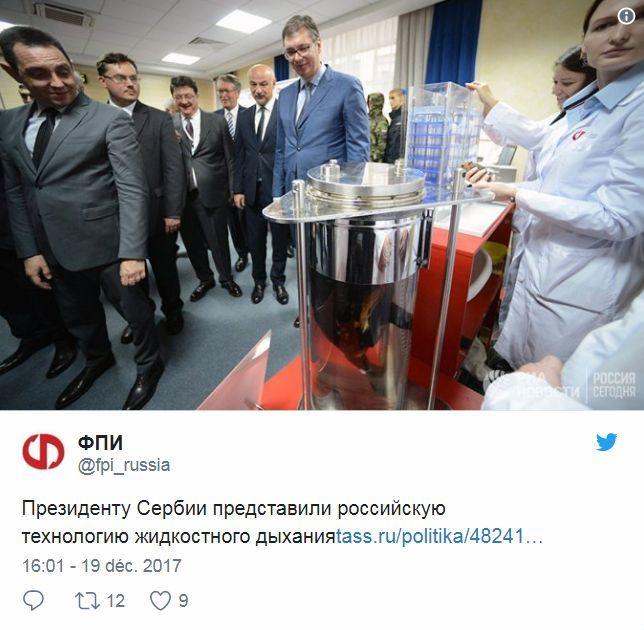Twitte Russie