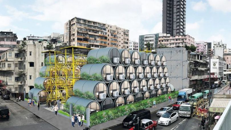 Appartement tube - Hong Kong - 5