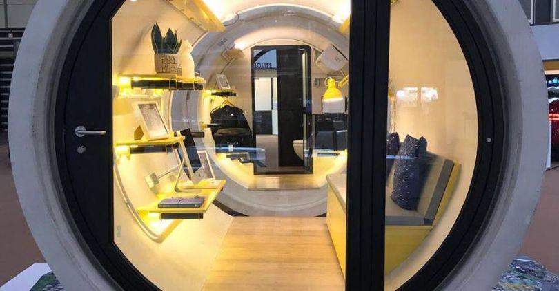 insolite pour lutter contre la crise du logement hong. Black Bedroom Furniture Sets. Home Design Ideas