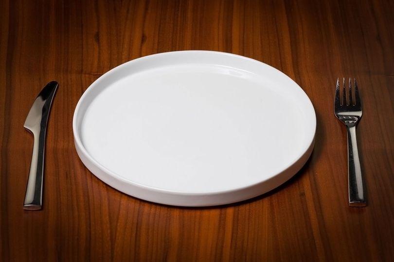 Assiète vide - Jeûne - Diète - 2