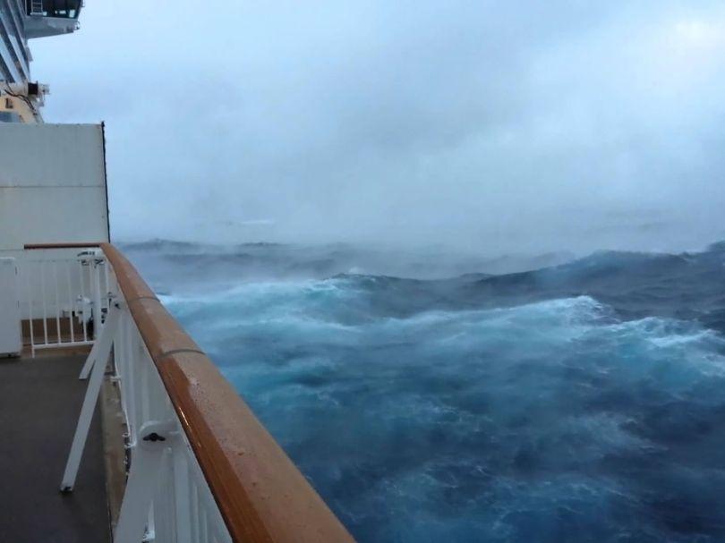 Bateau de croisière - Norvegian Breakway - Storm