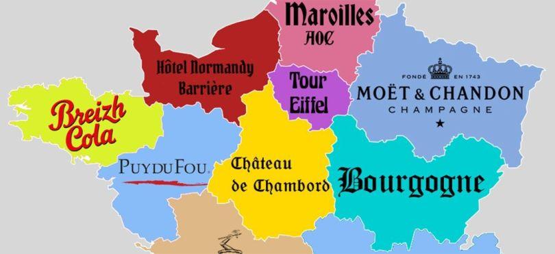 Carte – France – Eurorégion - 1