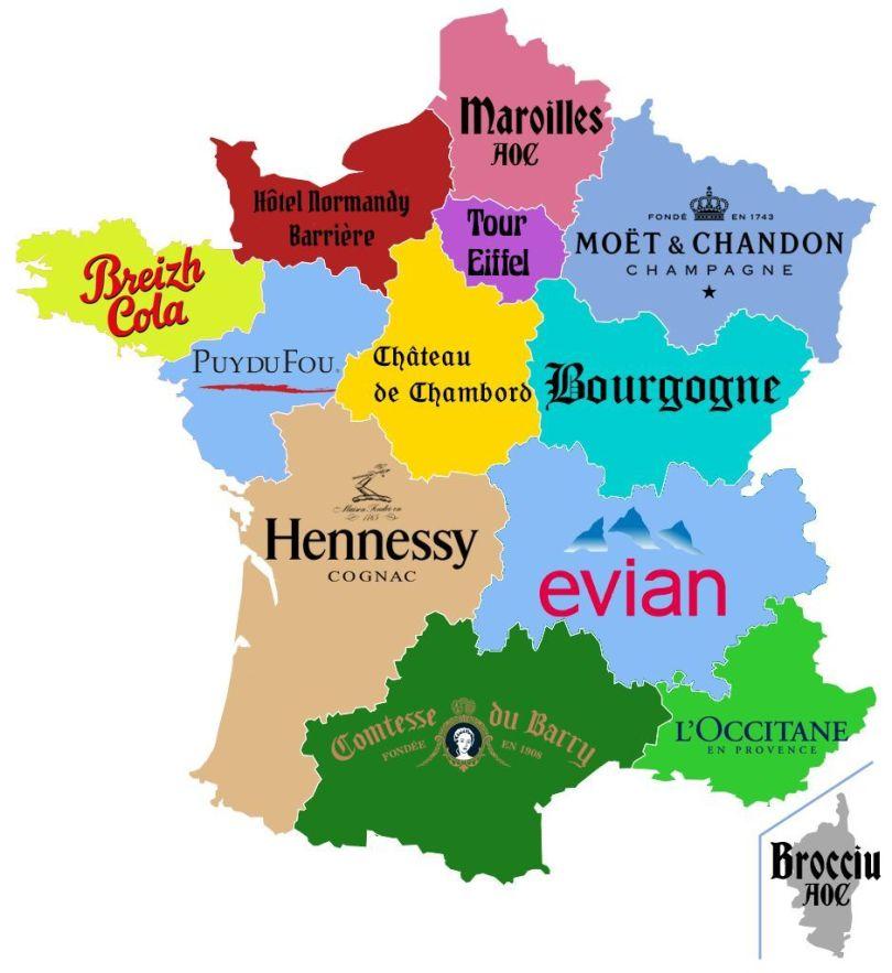 Carte – France – Eurorégion - 2