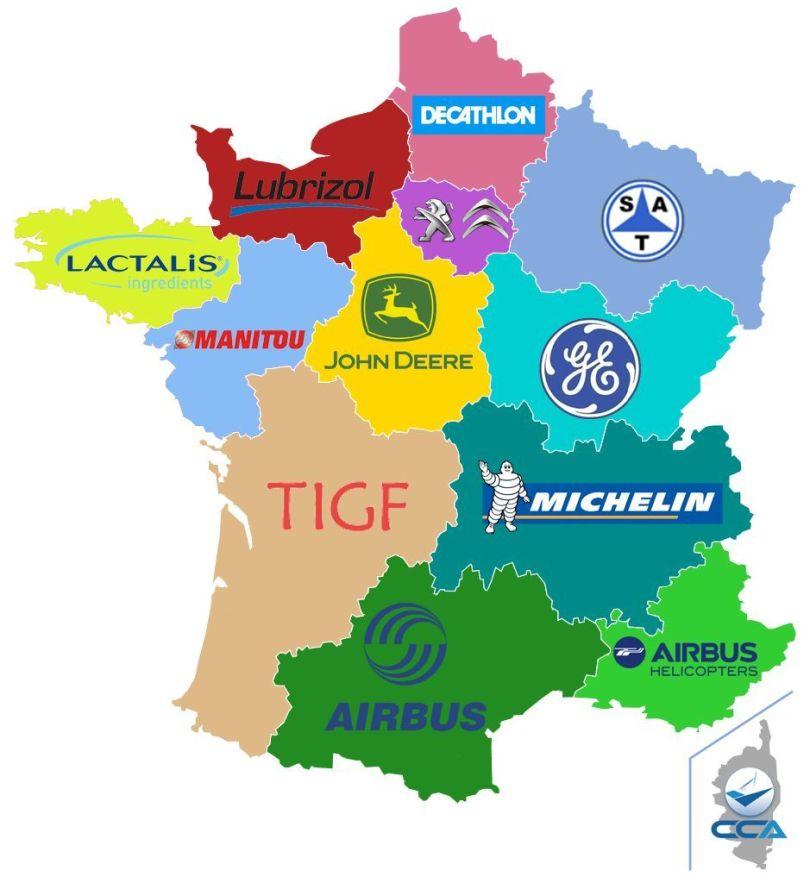 Carte – France – Eurorégion - 3