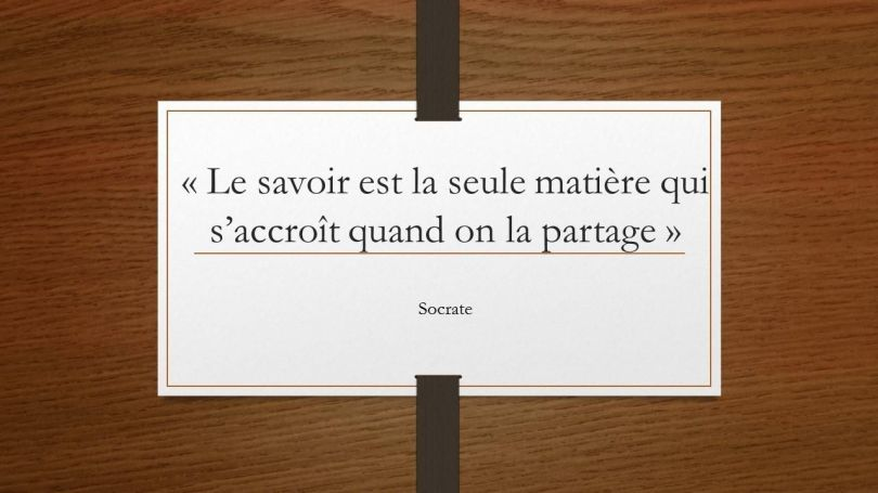 Citation - Socrate