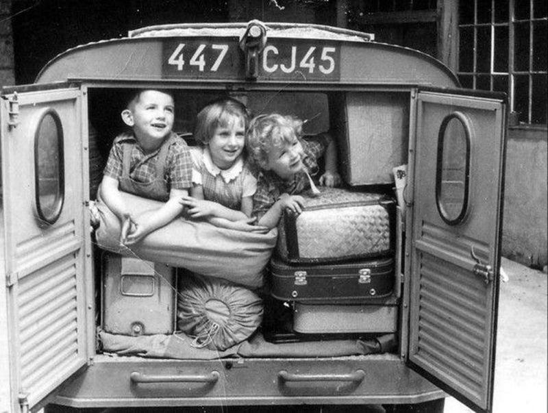 Départs en vacances - Années 50 - France - 2