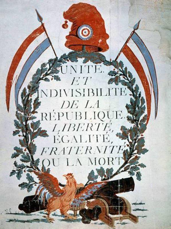 Devise républicaine française - 1