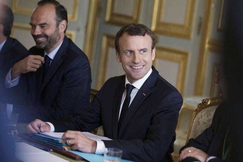 Emmanuel Macron & Edouard Philippe