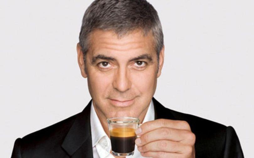 George Clooney - Coffee