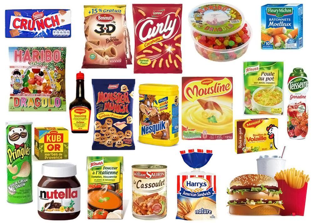 Glutamate - Produits alimentaires