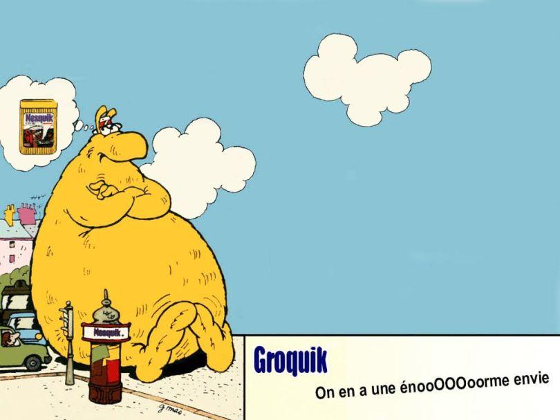 Groquik - Nesquick - Mascotte