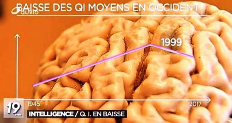 Intelligence - QI - En baisse