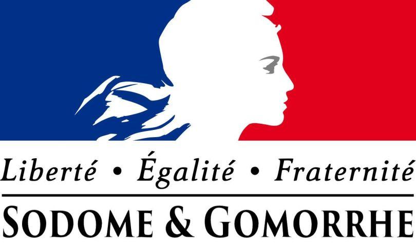Logo République française - Sodome et Gomorrhe