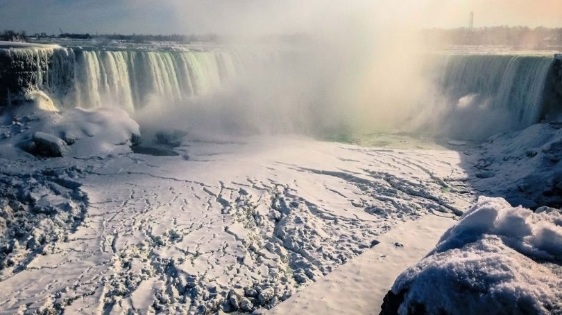 Niagara Falls Frozen - 2
